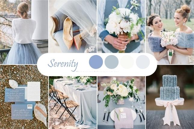 Голубой оттенок свадьбы
