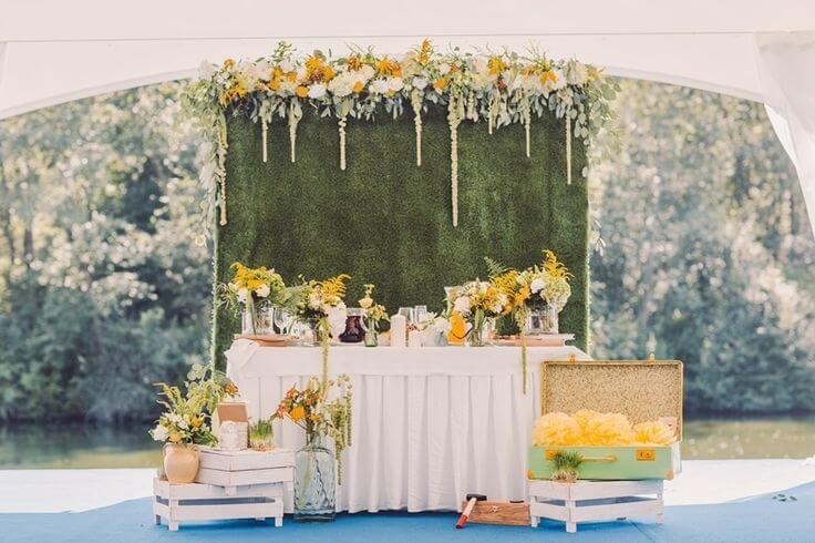 Услуги декора свадьбы