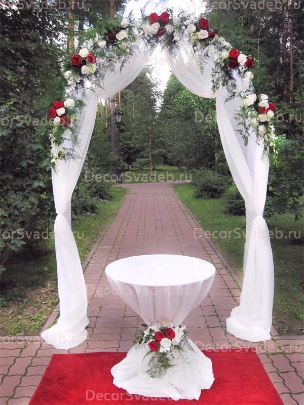 Фото по украшению свадьбы 47