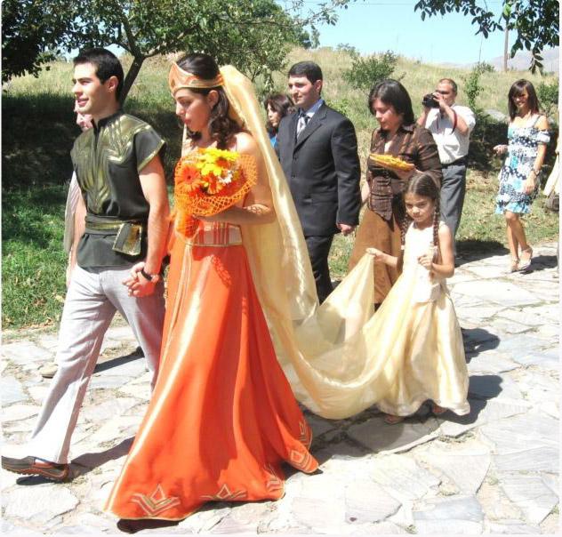 Обычаи армянская свадьба