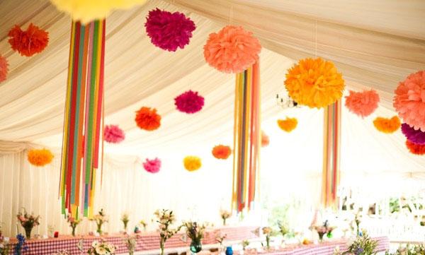 Как украсить зал на праздник своими руками 51