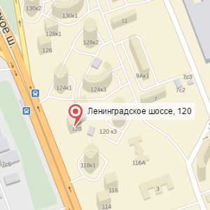 map leningrad