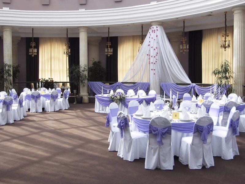 Украшение зала на свадьбу оформление