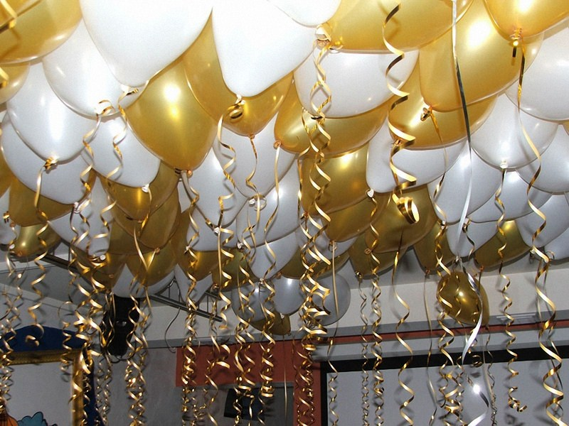 Оформление свадьбы воздушными шарами