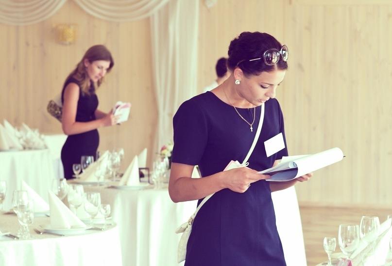 Работа организатора свадьбы