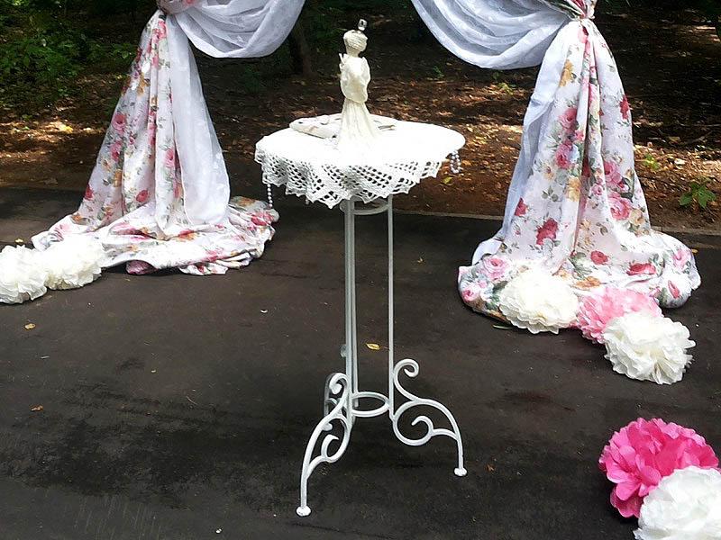 Стол для регистрации брака 57