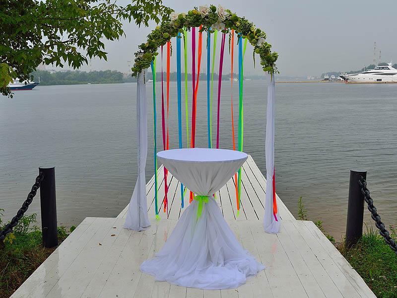 Сделать арку для свадьбы видео 89