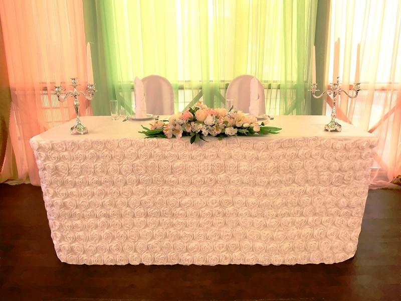 Декор тканями на свадьбе