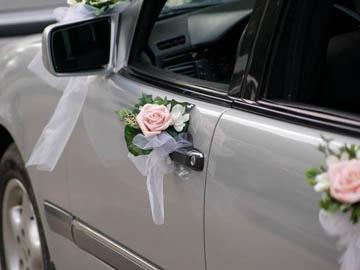Перейти к услуге Украшение свадебных машин
