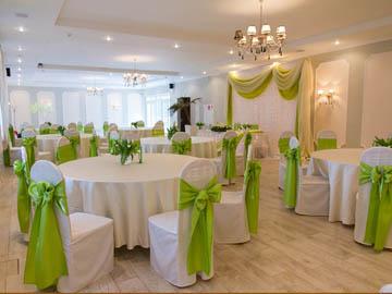 Украшение зала для свадьбы фото