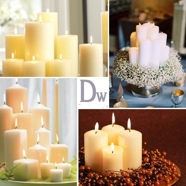 Красивое оформление свечей