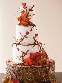 Украшение свадеб осенью