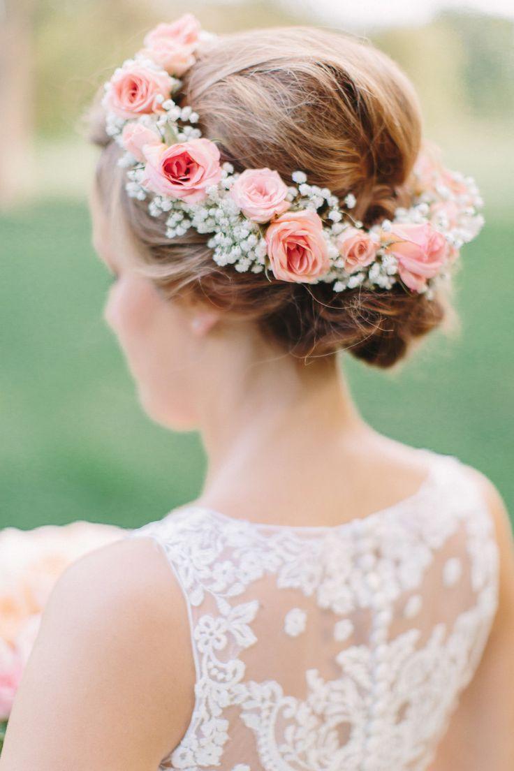 Веночки на голову из живых цветов