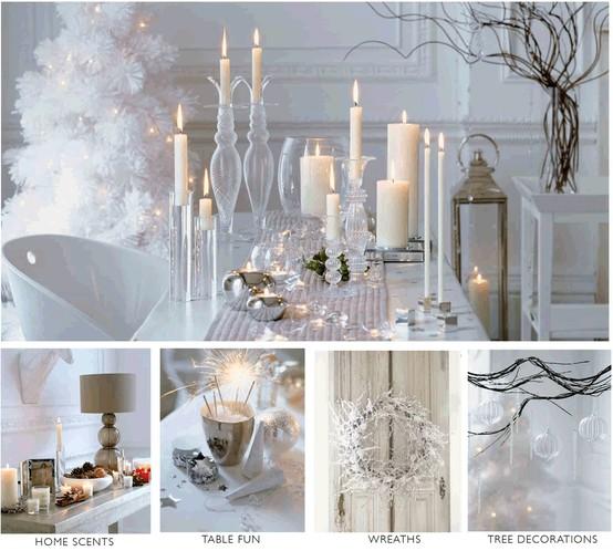 Декор в белом цвете